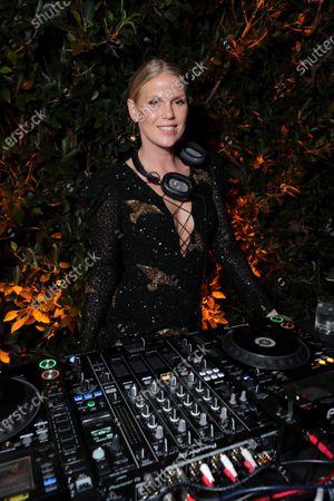 Stock Picture of DJ Alexandra Richards