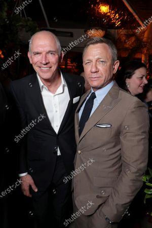 Joe Drake, Co-Chairman of Lionsgate Motion Picture Group, Daniel Craig