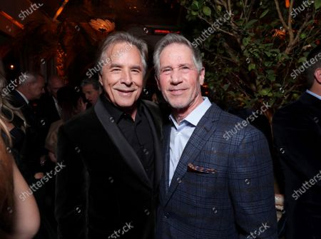 Stock Picture of Don Johnson, Jon Feltheimer, Chief Executive Officer, Lionsgate,