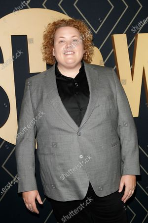 Fortune Feimster arrives for the Showtime Golden Globe Nominees Celebration at the Sunset Tower Hotel in West Hollywood, California, USA, 04 January 2020.