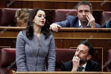 Editorial photo of Pedro Sanchez's Investiture debate, Madrid, Spain - 05 Jan 2020