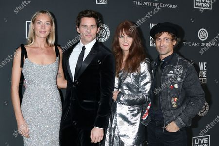 Edei, James Marsden and guests
