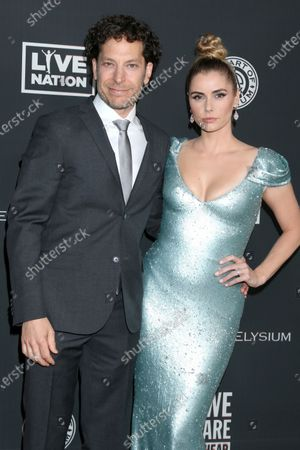 Richie Keen and Brianna Brown