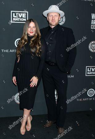 Arielle Goldrath and Kevin McKidd