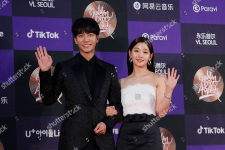 Editorial picture of K-Pop Music Awards, Seoul, South Korea - 05 Jan 2020