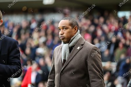Former Middlesbrough player Paul Ince during the The FA Cup match between Middlesbrough and Tottenham Hotspur at the Riverside Stadium, Middlesbrough