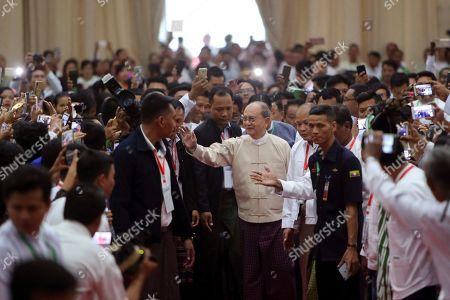Editorial picture of President, Naypyitaw, Myanmar - 05 Jan 2020