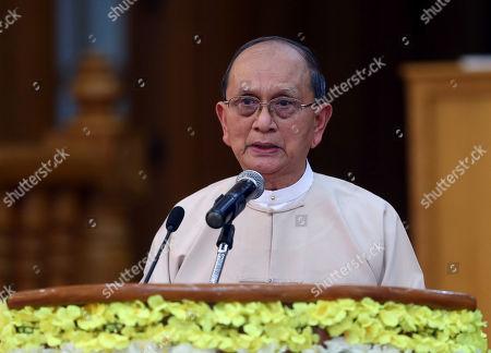Editorial image of Thein Sein, Naypyitaw, Myanmar - 05 Jan 2020