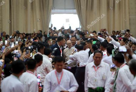 Editorial photo of Thein Sein, Naypyitaw, Myanmar - 05 Jan 2020