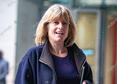 Stock Picture of Journalist and presenter, Rachel Johnson leaves BBC Studios