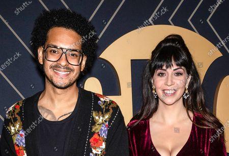 Yassir Lester and Chelsea Devantez