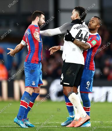 Editorial picture of Crystal Palace v Derby County, Emirates FA Cup Third Round, Football, Selhurst Park, London, UK - 05 Jan 2020