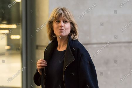 Stock Photo of Rachel Johnson arrives at the BBC Broadcasting House