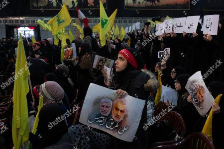 Editorial photo of Soleimani, Beirut, Lebanon - 05 Jan 2020