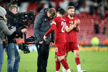 Editorial photo of Liverpool v Everton, The FA Cup - 05 Jan 2020