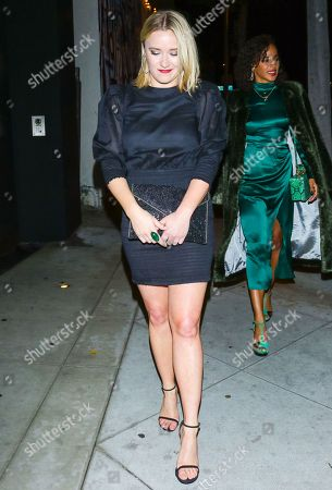 Emily Osment outside Cecconi's West Hollywood