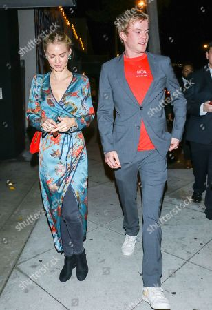 Graham Rogers outside Cecconi's West Hollywood