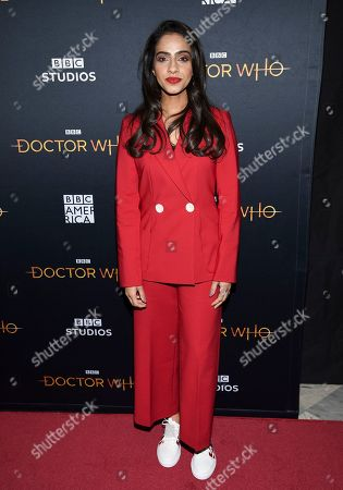 """Mandip Gill attends a special screening of BBC America's """"Doctor Who"""" at the Paley Center for Media, in New York"""