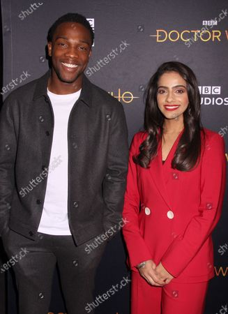 Tosin Cole and Mandip Gill
