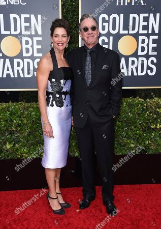 Jane Hajduk, Tim Allen. Jane Hajduk, left, and Tim Allen arrive at the 77th annual Golden Globe Awards at the Beverly Hilton Hotel, in Beverly Hills, Calif