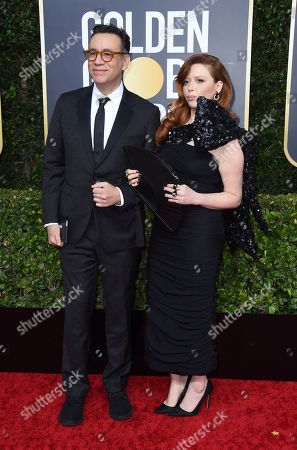 Fred Armisen, Natasha Lyonne. Fred Armisen, left, and Natasha Lyonne arrive at the 77th annual Golden Globe Awards at the Beverly Hilton Hotel, in Beverly Hills, Calif