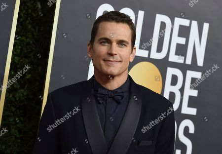 Matt Bomer arrives at the 77th annual Golden Globe Awards at the Beverly Hilton Hotel, in Beverly Hills, Calif