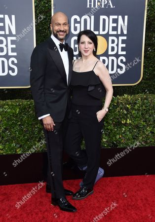 Keegan-Michael Key, Elisa Key. Keegan-Michael Key, left, and Elisa Key arrive at the 77th annual Golden Globe Awards at the Beverly Hilton Hotel, in Beverly Hills, Calif