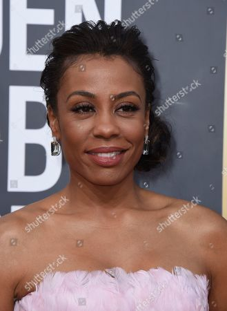 Karen Pittman arrives at the 77th annual Golden Globe Awards at the Beverly Hilton Hotel, in Beverly Hills, Calif