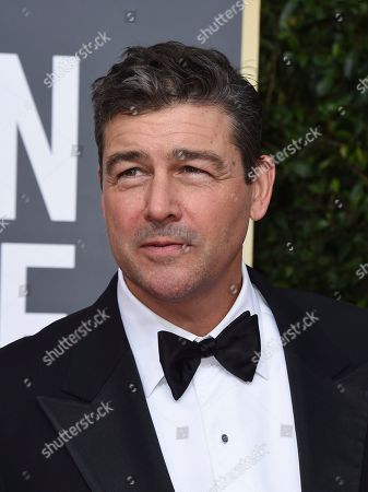 Kyle Chandler arrives at the 77th annual Golden Globe Awards at the Beverly Hilton Hotel, in Beverly Hills, Calif