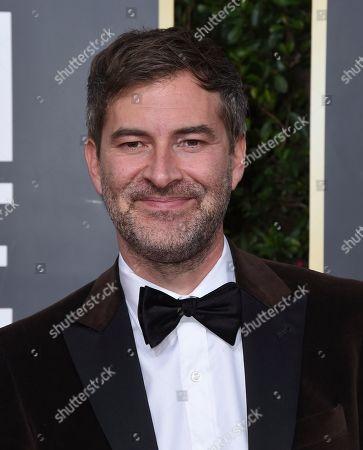 Mark Duplass arrives at the 77th annual Golden Globe Awards at the Beverly Hilton Hotel, in Beverly Hills, Calif