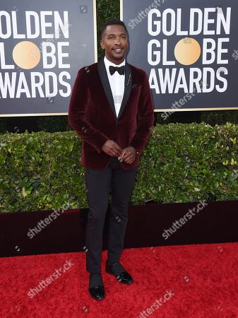 Scott Evans arrives at the 77th annual Golden Globe Awards at the Beverly Hilton Hotel, in Beverly Hills, Calif
