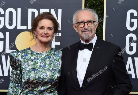 Kate Fahy, Jonathan Pryce. Kate Fahy, left, and Jonathan Pryce arrive at the 77th annual Golden Globe Awards at the Beverly Hilton Hotel, in Beverly Hills, Calif