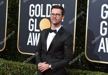 Brad Goreski arrives at the 77th annual Golden Globe Awards at the Beverly Hilton Hotel, in Beverly Hills, Calif