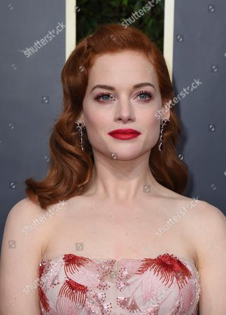 Jane Levy arrives at the 77th annual Golden Globe Awards at the Beverly Hilton Hotel, in Beverly Hills, Calif