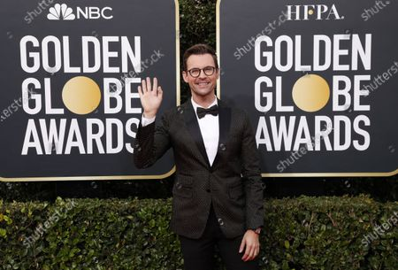 Brad Goreski arrives for the 77th annual Golden Globe Awards ceremony at the Beverly Hilton Hotel, in Beverly Hills, California, USA, 05 January 2020.