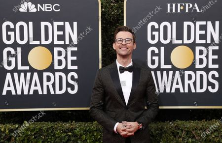 Stock Photo of Brad Goreski arrives for the 77th annual Golden Globe Awards ceremony at the Beverly Hilton Hotel, in Beverly Hills, California, USA, 05 January 2020.