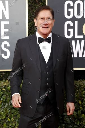 Stock Image of Nicholas Perricone arrives for the 77th annual Golden Globe Awards ceremony at the Beverly Hilton Hotel, in Beverly Hills, California, USA, 05 January 2020.