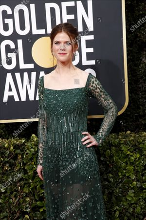 Rose Leslie arrives for the 77th annual Golden Globe Awards ceremony at the Beverly Hilton Hotel, in Beverly Hills, California, USA, 05 January 2020.