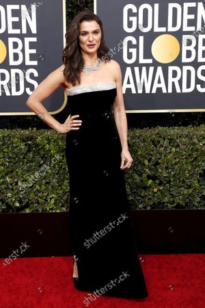 Rachel Weisz arrives for the 77th annual Golden Globe Awards ceremony at the Beverly Hilton Hotel, in Beverly Hills, California, USA, 05 January 2020.