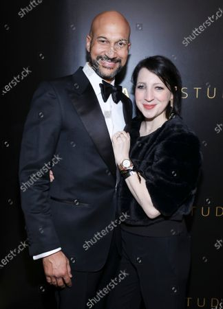 Keegan-Michael Key and Elisa Key attend Amazon Prime Video Golden Globe Awards Post Show Celebration