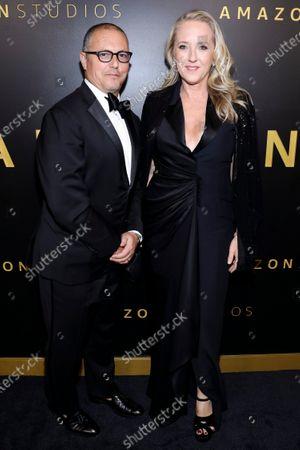 Bert Salke and Jennifer Salke attend the Amazon Prime Video Golden Globe Awards Post Show Celebration