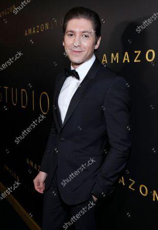 Michael Zegen attends the Amazon Prime Video Golden Globe Awards Post Show Celebration