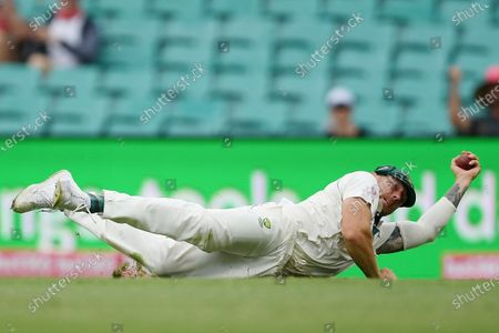 Editorial photo of Third Test Match between Australia and New Zealand in Sydney - 06 Jan 2020