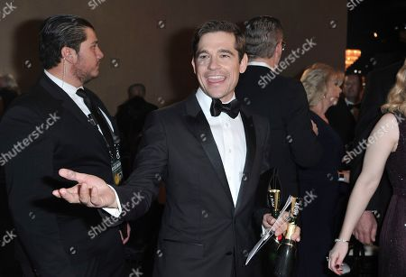 Jason Ralph attends the 77th annual Golden Globe Awards at the Beverly Hilton Hotel, in Beverly Hills, Calif