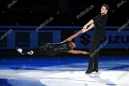Vanessa James and Morgan Cipres from France