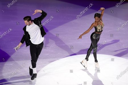 Stock Image of Vanessa James and Morgan Cipres from France