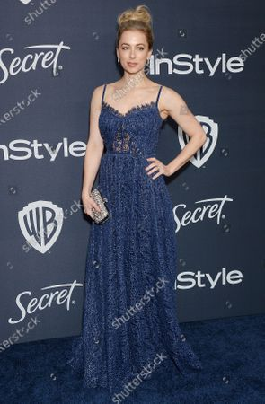 Editorial photo of InStyle and Warner Bros Golden Globes After Party, Arrivals, Los Angeles, USA - 05 Jan 2020