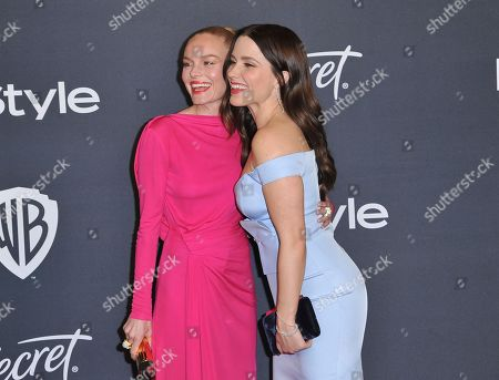 Kate Bosworth, Sophia Bush. Kate Bosworth, left, and Sophia Bush arrive at the InStyle and Warner Bros. Golden Globes afterparty at the Beverly Hilton Hotel, in Beverly Hills, Calif
