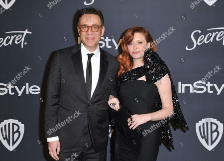 Fred Armisen, Natasha Lyonne. Fred Armisen, left, and Natasha Lyonne arrive at the InStyle and Warner Bros. Golden Globes afterparty at the Beverly Hilton Hotel, in Beverly Hills, Calif