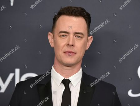 Colin Hanks arrives at the InStyle and Warner Bros. Golden Globes afterparty at the Beverly Hilton Hotel, in Beverly Hills, Calif